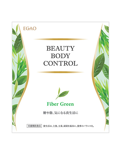 BEAUTY BODY CONTROL Fiber Green
